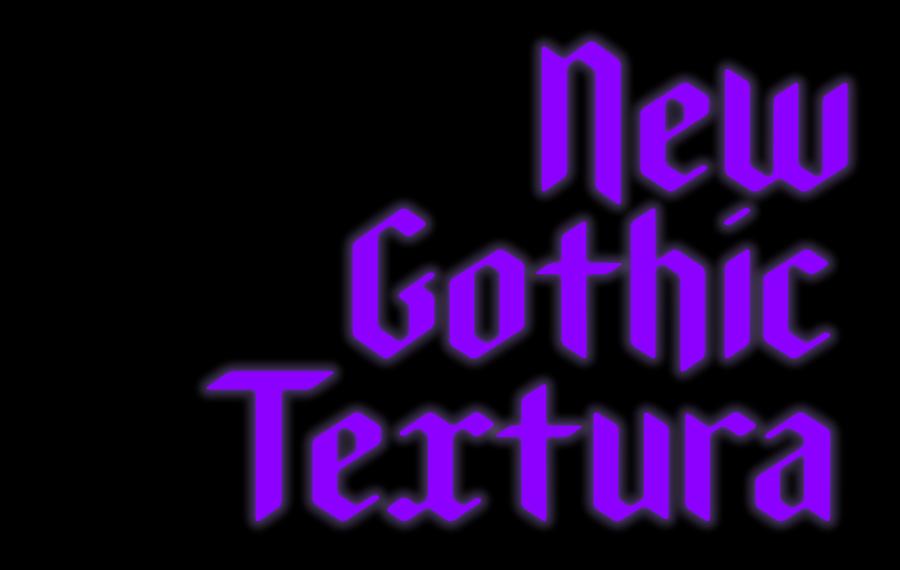 Acme Paris New Gothic Textura Type Font 1 1