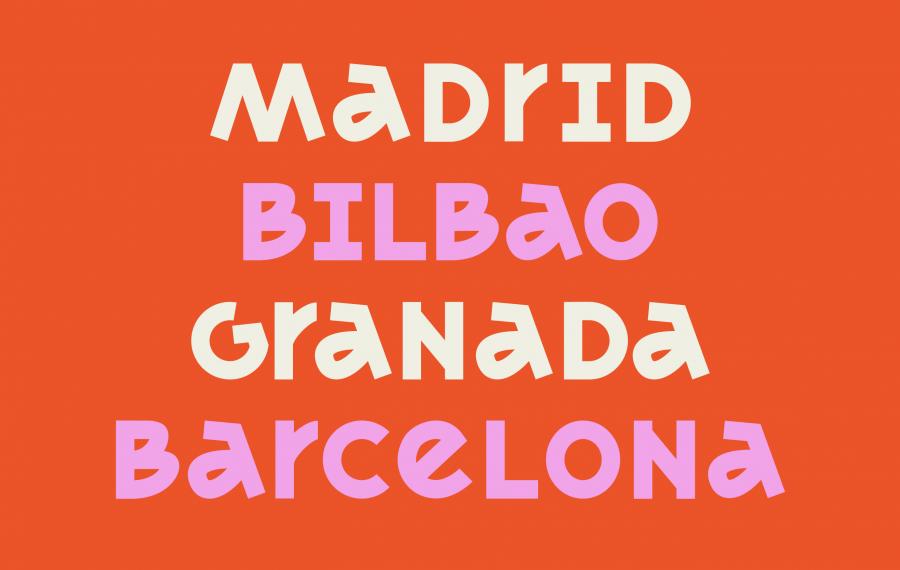 Acme Paris Madrid Caroline Aufort Elodie Mandray Type Font 4